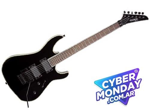 Guitarra Electrica Hamer Cal Emg Floyd Rose Humbuckers