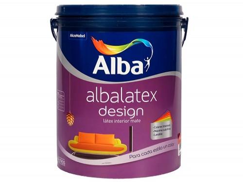 Alba Albalatex Desing Varios Colores 4 Litros