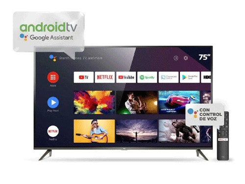 Televisor TCL 75″ Smart Ultra HD 4K