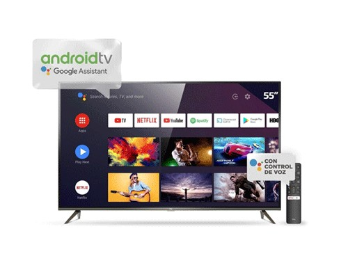 Televisor TCL 55″ Smart Ultra HD 4K
