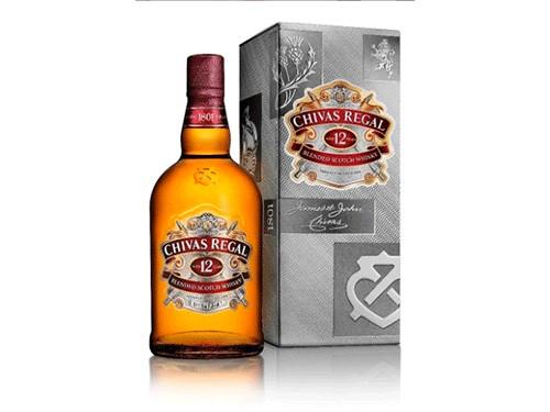 Whisky Chivas 1lt + estuche