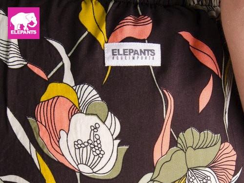 Pantalon capri Betty liviano Elepants®