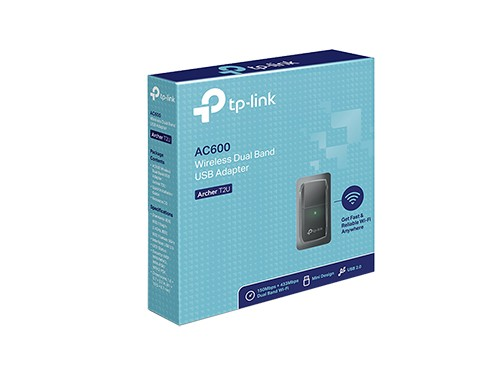 Adaptador Wifi Usb Tp-link Archer T2u Ac600 Dual Band