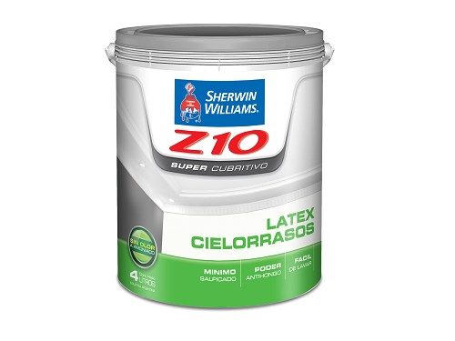 Sherwin Williams Látex Cielo Raso 4 Litros