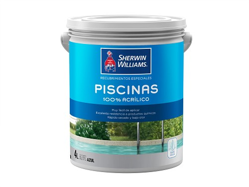 Sherwin Williams Loxon Piscinas Azul 1 Litro