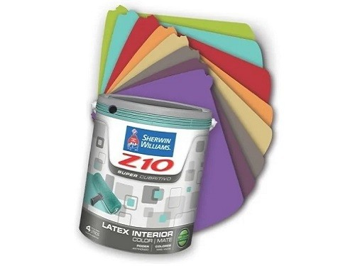 Sherwin Williams Látex Interior Z10 Varios Colores 1 Litro