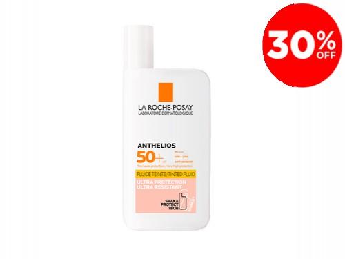 Anthelios Fluido Con Color Invisible SPF 50+ La Roche-Posay x 50 ml