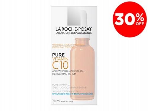 Pure Vitamin C 10 Para Pieles Sensibles De La Roche-Posay