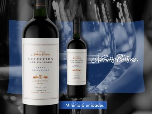 Vino tinto-Selección del Enólogo Blend 750ml.-Navarro Correas