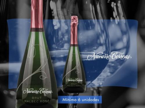 Espumante-Navarro Correas Sparkling Brut Rosé 750 ml.-Navarro Correas