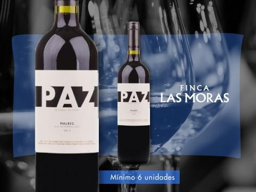 Vino tinto - Paz Malbec 750 ml. - Finca Las Moras