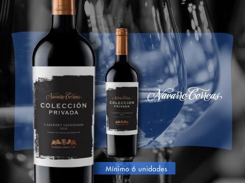 Vino tinto-Colección Privada Cabernet Sauv. 750 ml. - Navarro Correas