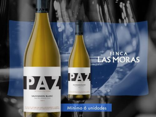 Vino blanco - Paz Sauvignon Blanc 750 ml. - Finca Las Moras
