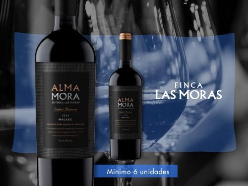 Vino tinto - Alma Mora Select Reserve Malbec 750 ml.- Finca Las Moras