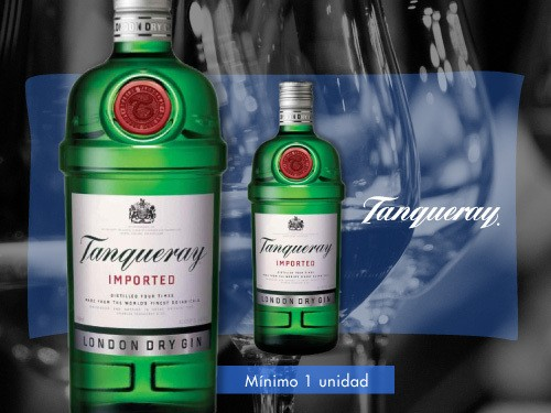 Gin - Tanqueray London Dry Gin 750 ml.