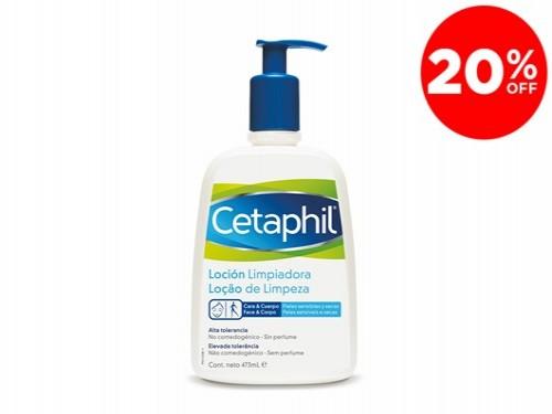 Locion Limpiadora Para Piel Sensible x 473 ml De Cetaphil