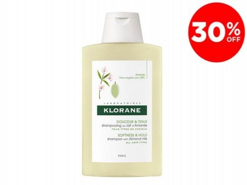 Shampoo Energia Y Brillo Con Leche De Almendras X 200 Ml De Klorane