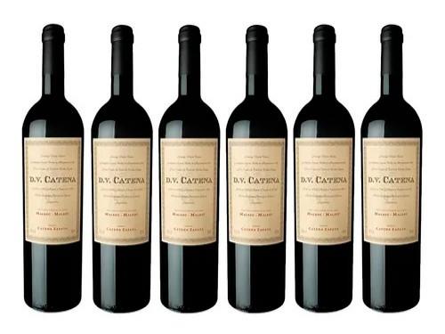 Vino Dv Catena Malbec 750ml Botella Tinto Mendoza Arg.