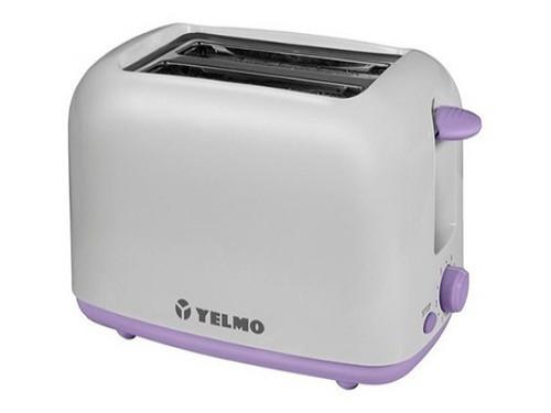 Tostadora Electrica Yelmo 2 Panes 6 Niveles Con Bandeja 700w