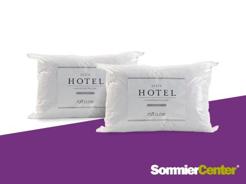 Promo 2x1 Almohada de Pluma Elite Hotel 70x50 Zlow