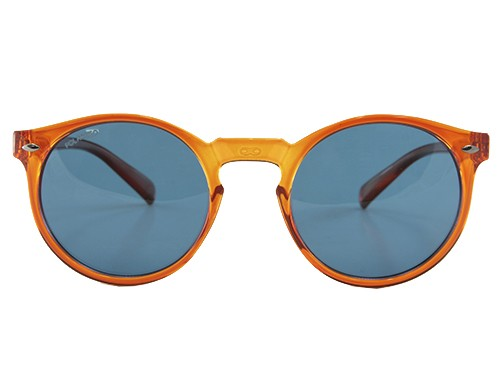 Anteojo de Sol Tulum caramelo lente Azul Polarizada Medium Infinit