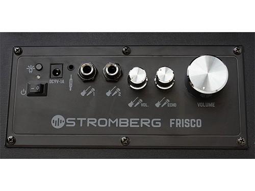 Parlante Portátil Amplificador Stromberg Frisco Bluetooth Tiras LED