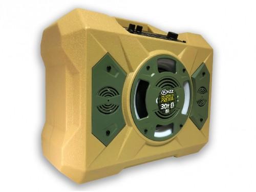 Parlante Portátil Kazz Corp Bluetooth con Luces LED