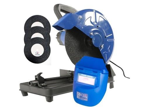 Sierra Sensitiva 1800w Kld + 3 Discos + Mascara Fotosensible
