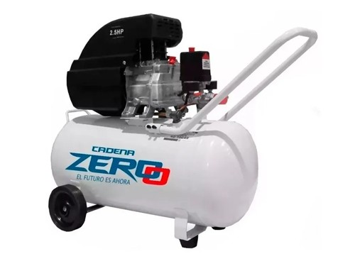 Compresor De Aire 50 Litros 2,5 Hp Portátil Zero