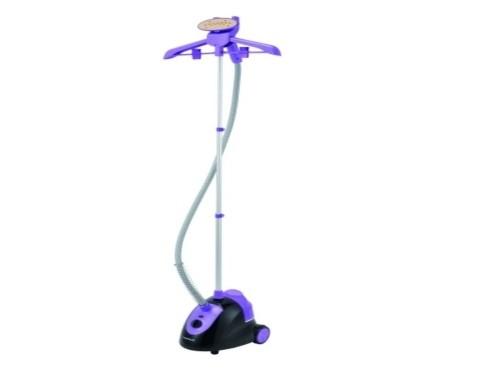 Plancha A Vapor Vertical Vaporizador de pie Ropa  + percha Winco W207