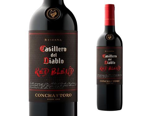 VINO CASILLERO DEL DIABLO RED BLEND (6 X 750 ML)