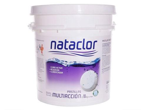 Pastillas de Cloro Multiacción de 10kg Nataclor