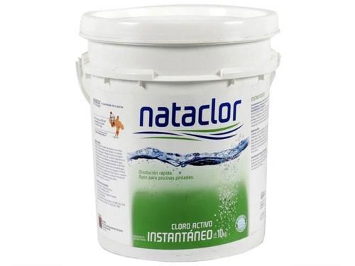 Cloro Granulado Disolución Rápida 10kg Nataclor