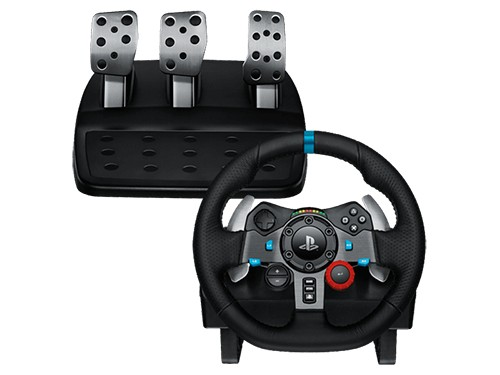 Volante Logitech G29 Gamer + Pedalera Ps3 Ps4 Pc