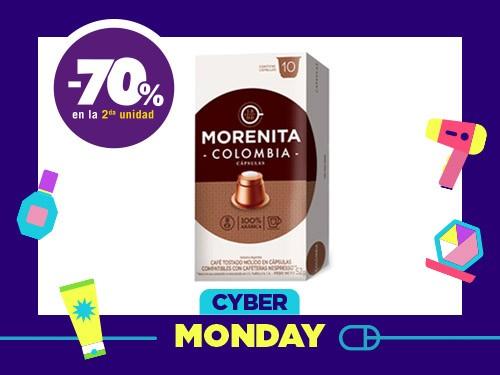 Café en Cápsulas Morenita Colombia Estuche x 52 g