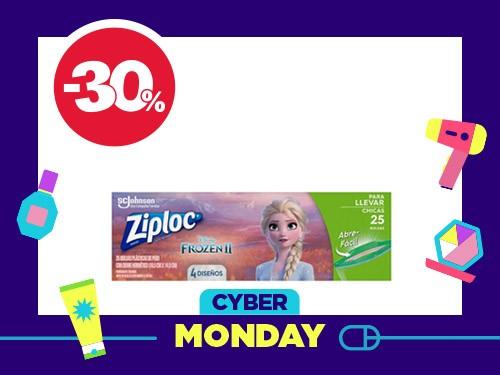 Bolsa para Sándwich Ziploc Frozen II x 25 un