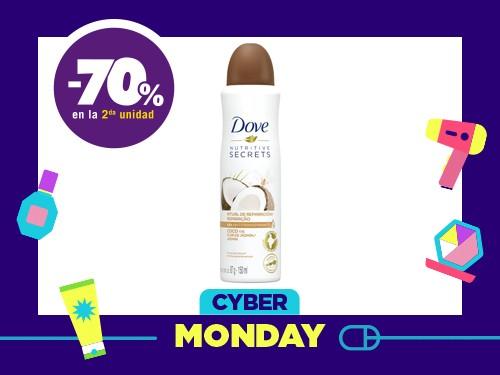 Desodorante Antitranspirante Dove Coco en Aerosol x 150 ml