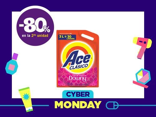 Detergente Líquido Ace Clásico x 3 l