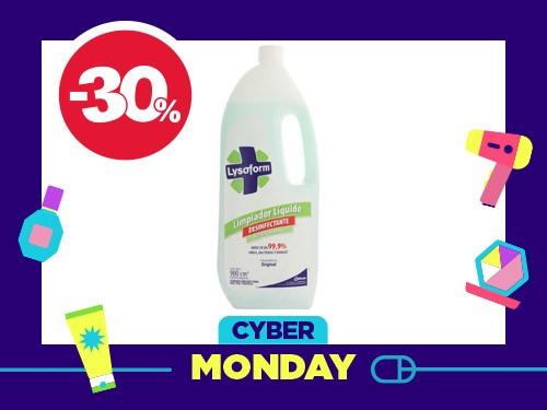 Limpiador Líquido Desinfectante Original x 900 cm3