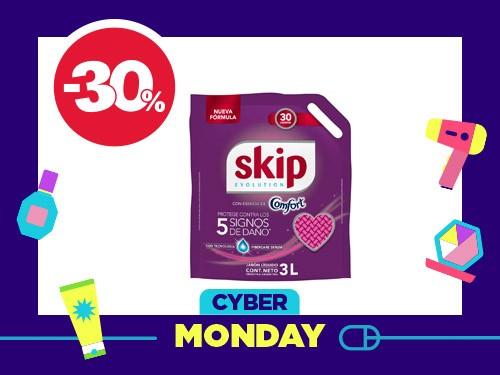 Jabón Líquido Skip con Esencia de Comfort x 3 l