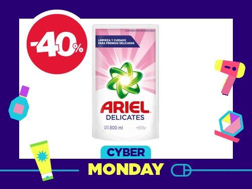 Detergente Líquido Ariel Delicateses x 800 ml