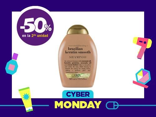 Shampoo OGX Brazilian Keratin Smooth x 385 Ml
