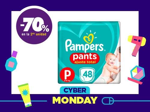 Pañales Pampers Pants Ajuste Total