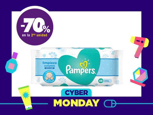 Toallas Húmedas Pampers Fresh Clean x 48 Un.