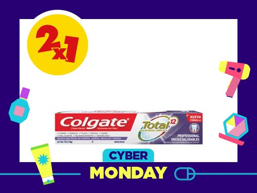 Crema Dental Total 12 Professional Encias Saludables x 162 gr