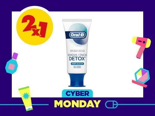Crema Dental Oral B Detox Deep Clean x 102 Gr