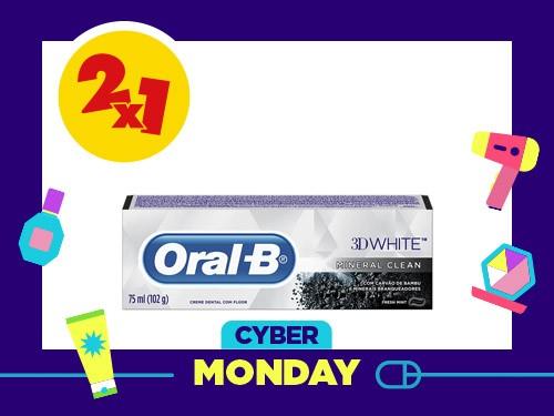 Crema Dental Oral B 3D White Mineral Clean x 102 g