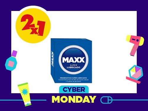 Preservativo Maxx Super Lubricado x 3 Un