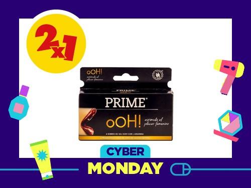 Preservativo Prime Ohh x6 un