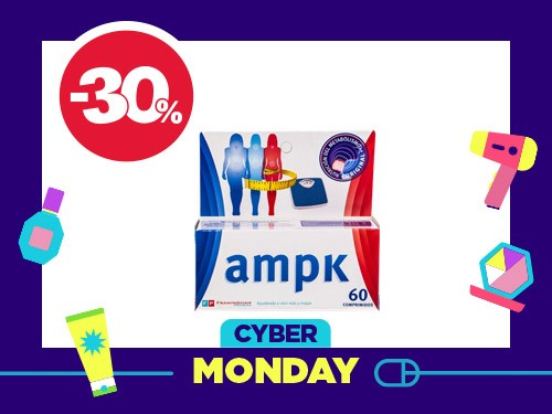 Suplemento Dietario Ampk x 60 comprimidos
